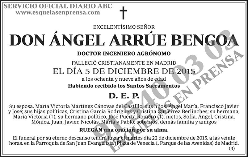 Ángel Arrúe Bengoa